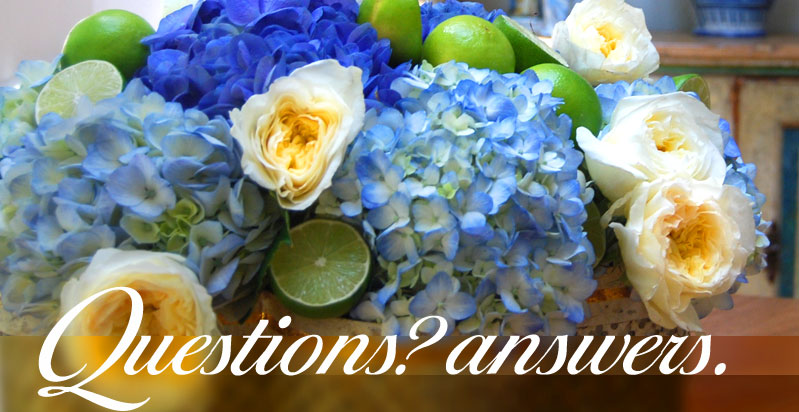 Questions and Answers about flowers